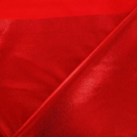 Tissus pas cher tissu lycra poudr rouge - Tissus rouge pas cher ...