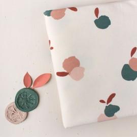 Tissu sweat Atelier Brunette - Néroli Off-white x 10cm