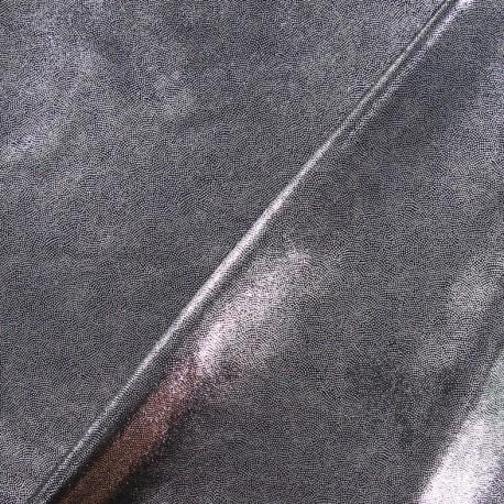Tissu Lycra poudré gris x 10cm