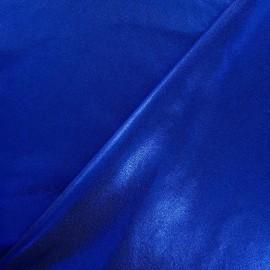Tissu Lycra poudré bleu roy x 10cm