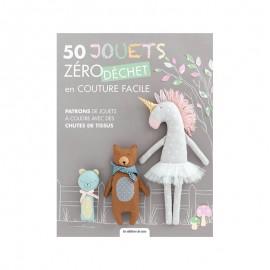 """Livre """"50 jouets zéro déchet en couture facile"""""""