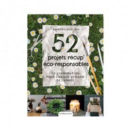 """Livre """"52 projets récup' éco-responsables"""""""