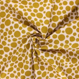 Tissu coton popeline Poppy Dots B - blush x 10cm