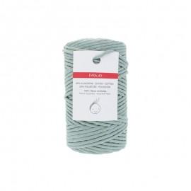6mm recycled macramé cord - eucalyptus Evra