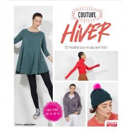 """Livre """"Couture hiver - 20 modèles pour ne pas avoir froid"""""""