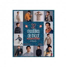 """Livre """"32 modèles de tricot masculins"""""""