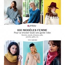 """Book """"100 modèles femme pour se tricoter toute une garde-robe"""""""