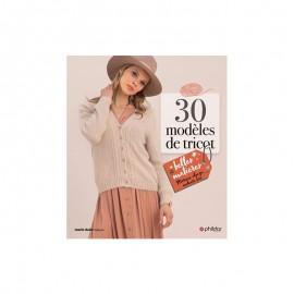 """Livre """"30 modèles de tricot - Belles matières"""""""