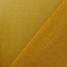 Tissu Lycra lurex disco doré x 10cm