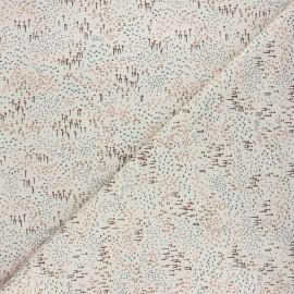 Tissu coton Cotton Steel Dear Isla - Wilderly - grège x 10cm