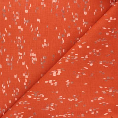 Cotton Steel cotton fabric Dear Isla - orange Haze x 10cm