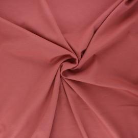 Tissu jersey milano Light - bois de rose x 10 cm