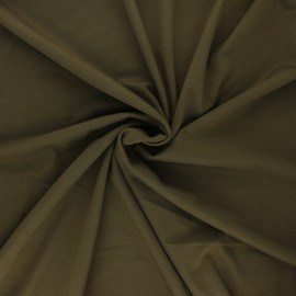 Milano jersey fabric - khaki Light x 10 cm