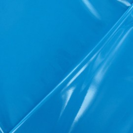 Interlock Vinyl Fabric - Turquoise x 10cm