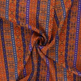 Tissu viscose Madame Iris - Landry x 10cm