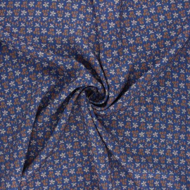 Madame Iris Viscose fabric - Eulalie x 10cm