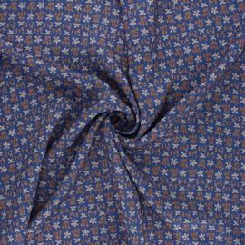 Tissu viscose Madame Iris - Eulalie x 10cm