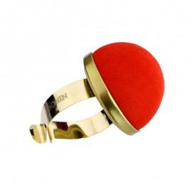 Metal pincushion bracelet BOHIN - red