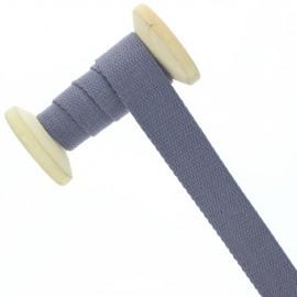 Sangle coton 23 mm - améthyste - bobine de 15 m