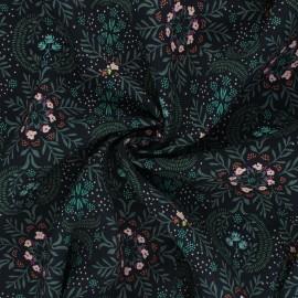 AGF rayon fabric Velvet - Firefly x 10cm