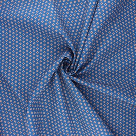 Tissu popeline de coton Madame Iris - Margaux x 10cm