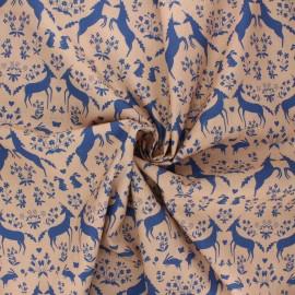 Madame Iris Cotton poplin fabric - Bathilde x 10cm