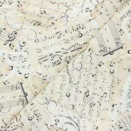 Timeless Treasures cotton fabric - raw Partitio x 10cm