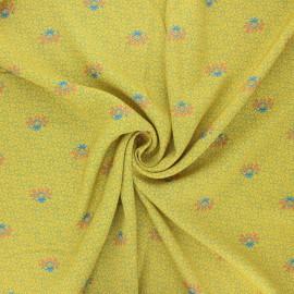 Tissu viscose Madame Iris - Madi x 10cm
