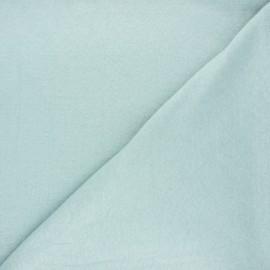 Flamed linen viscose jersey fabric - opalin Roma x 10cm