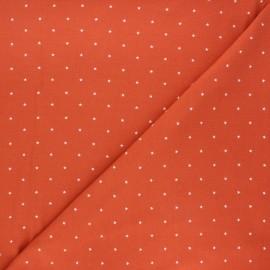 Tissu jersey Starry night - rouille x 10cm