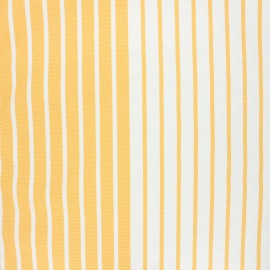 Outdoor canvas fabric - yellow Chill day x 10cm