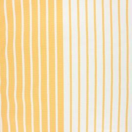 Tissu toile transat Chill day - jaune x 10cm