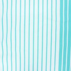 Tissu toile transat Chill day - céladon x 10cm