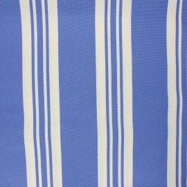 Tissu toile transat Pool day - bleu x 10cm