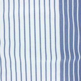 Tissu toile transat Chill day - bleu x 10cm