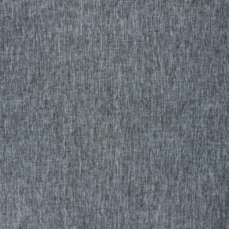 Tissu toile transat Paradise - noir chiné x 10cm