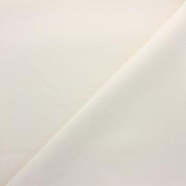 Tissu polycoton tissé Natura abstrait - écru x 10cm