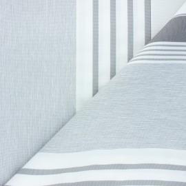 Tissu toile extérieur Farniente - gris clair x 10cm