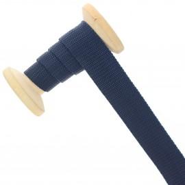Sangle polypropylène 23 mm - bleu foncé - bobine de 15 m