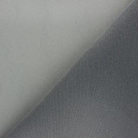Tissu ciel de toit - gris x 10cm