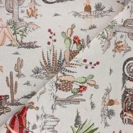 Jacquard fabric - grey Dorothy x 50cm