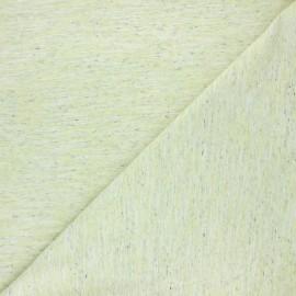 Tissu jersey flammé Olando  - vert anis x 10cm