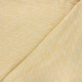 Tissu jersey flammé Olando  - miel x 10cm