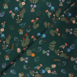 Tissu coton Cloud9 Arid wilderness - Prickly florals x 10 cm