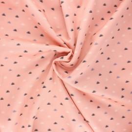 Tissu popeline satinée Cloud9 - Sweet nothing - Grass x 10 cm