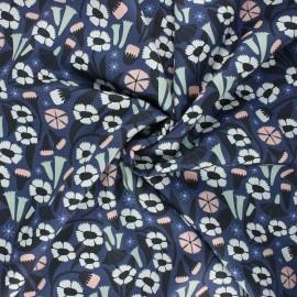 Tissu popeline satinée Cloud9 - Sweet nothing - Meadow x 10 cm