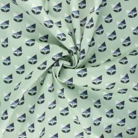 Tissu popeline satinée Cloud9 - Sweet nothing - Deco flower x 10 cm