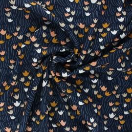 Tissu rayonne Cloud9 - Floral deco - Tulip x 10 cm