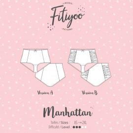 Fitiyoo Sewing Pattern - Manhattan Panties