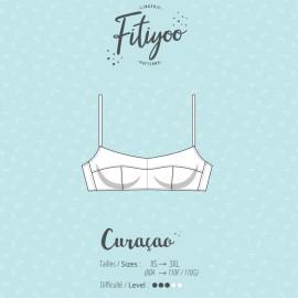 Fitiyoo Sewing Pattern - Curaçao bra